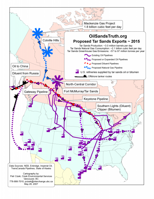 2015 Proposed Pipelines