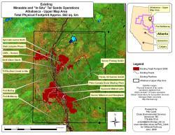 Mineable Tar Sands Region, 2006 (Existing Footprint)