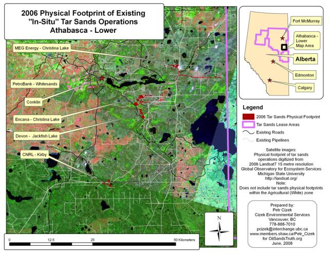 Athabasca Lower Region 2006 (Existing)